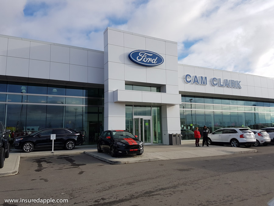 Dropped of our Thor Gemini 23 at Cam Clark Ford in Airdrie