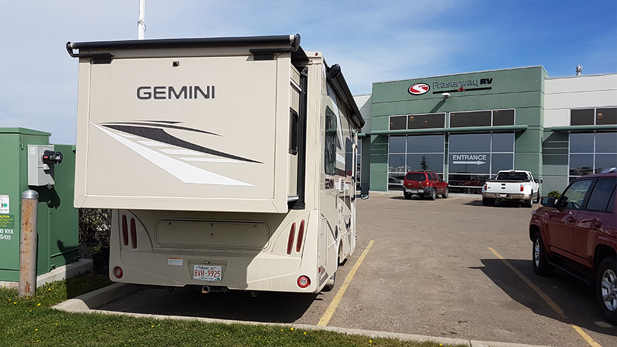 Goodbye Thor Gemini. Goodbye Fraserway RV