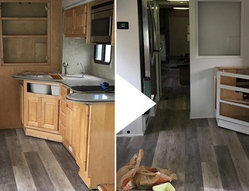 RV Renovation Week 7 – Progress!