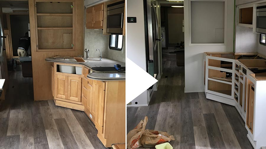 RV Renovation Week 7 - Progress! - Explorking