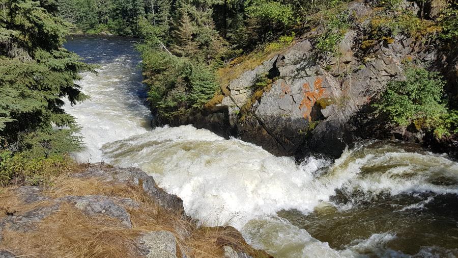 Wekusko Falls Provincial Park - Campground