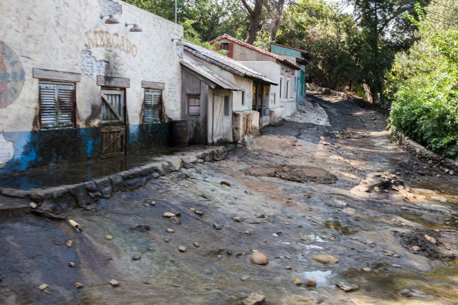 Mexican village at Universal Studios - Without Water