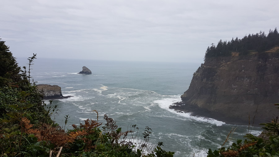 Cliffs in Netarts, OR