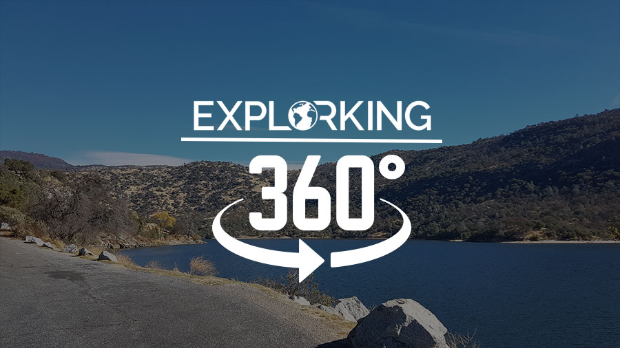 360 Panorama of Redinger Primitive Campground