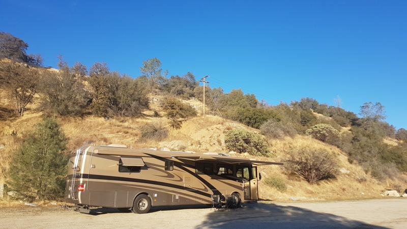 Explorker2 at Redinger Primitive Campground