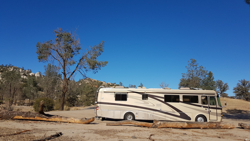 Explorker2 parked at the Keysville BLM