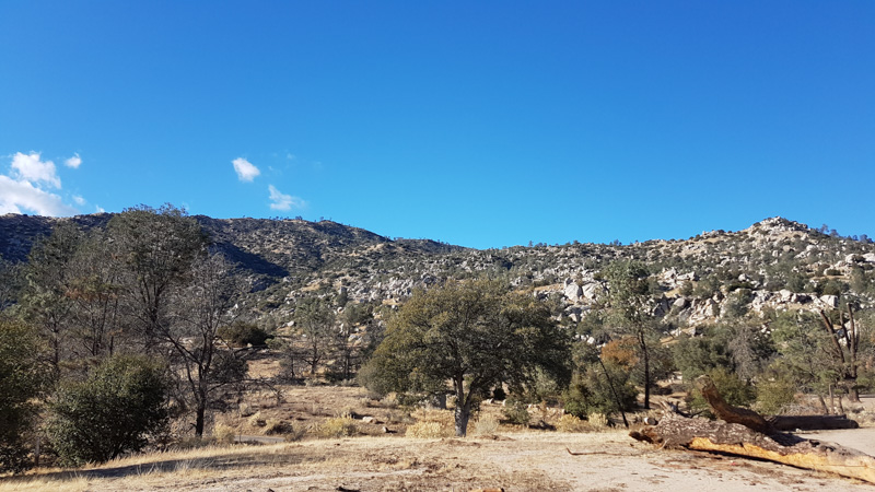 Pictures of the mountains surrounding the Keysville BLM