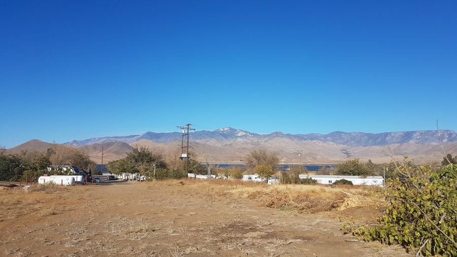 Field behind Lake Isabella RV Park