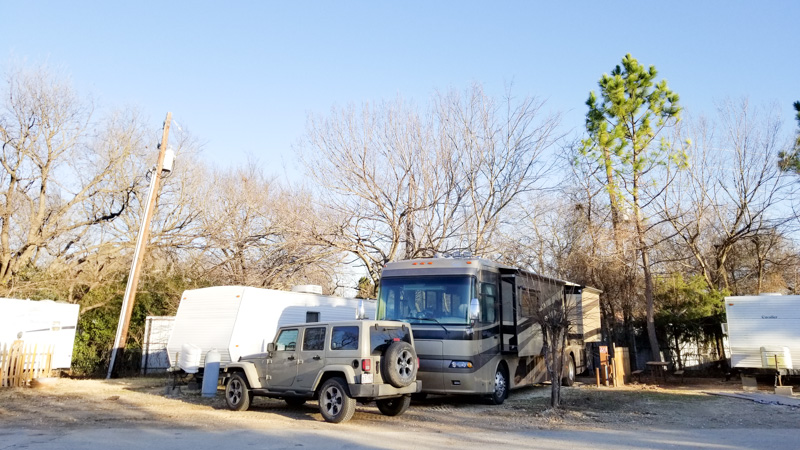 Explorker2 at Jellystone RV Park in Texas