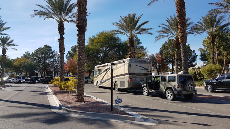 Explorker2 at Oasis RV Park registration