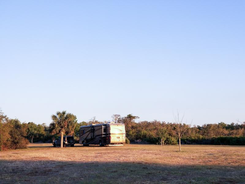 Free Camping at Hickory Hammock Campground, Lorida FL