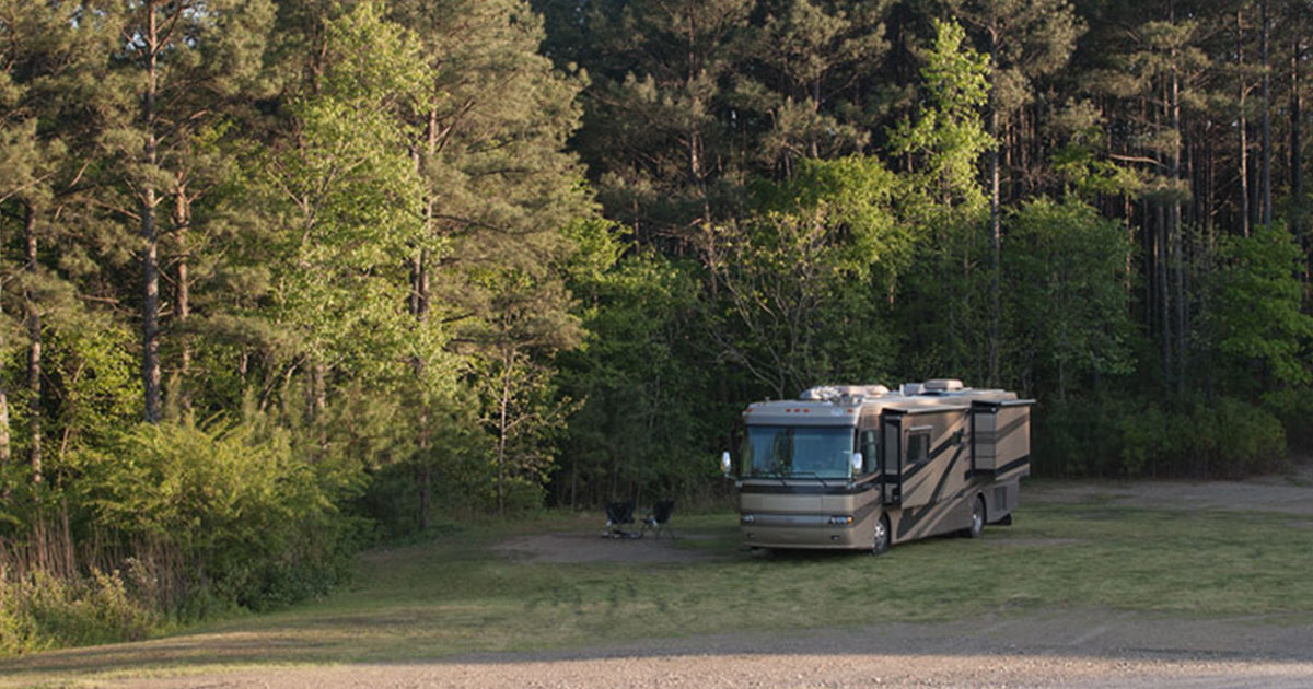 Free Camping in Hot Springs Arkansas at Cedar Glades Park ...