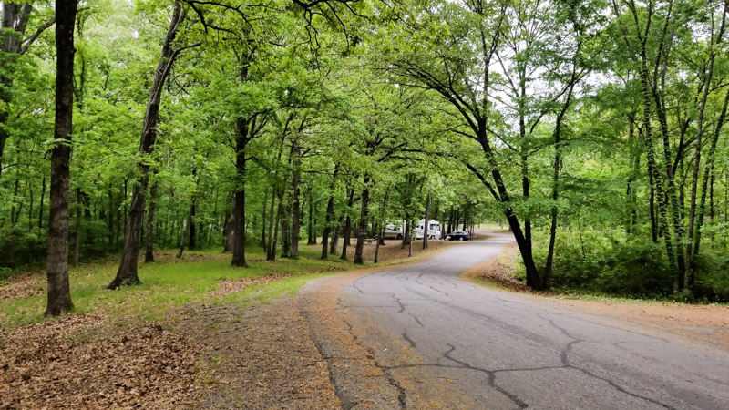 Spring Hill Park Campground, Fort Smith AR - Explorking