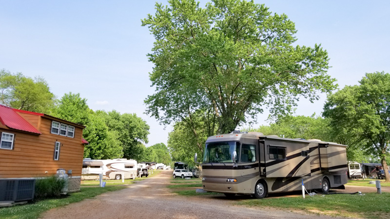 Yogi Bear Campground Nashville TN