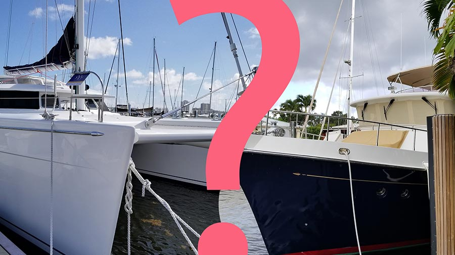 Trawler or Catamaran?!