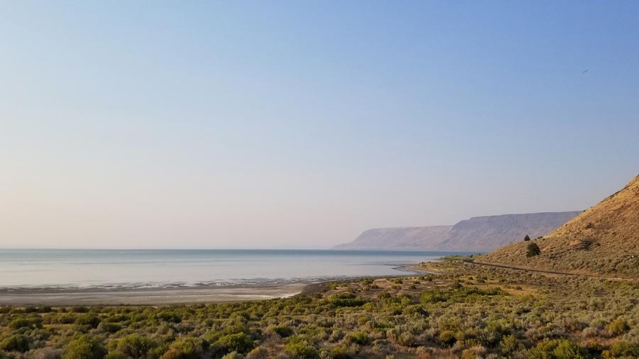 View of Lake Abert from Explorker2