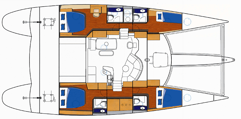 Floor plan of SV Seamlessly