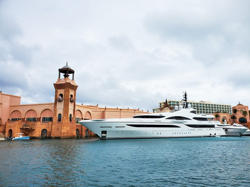 Quantum of Solace, the other superyacht at Atlantis.