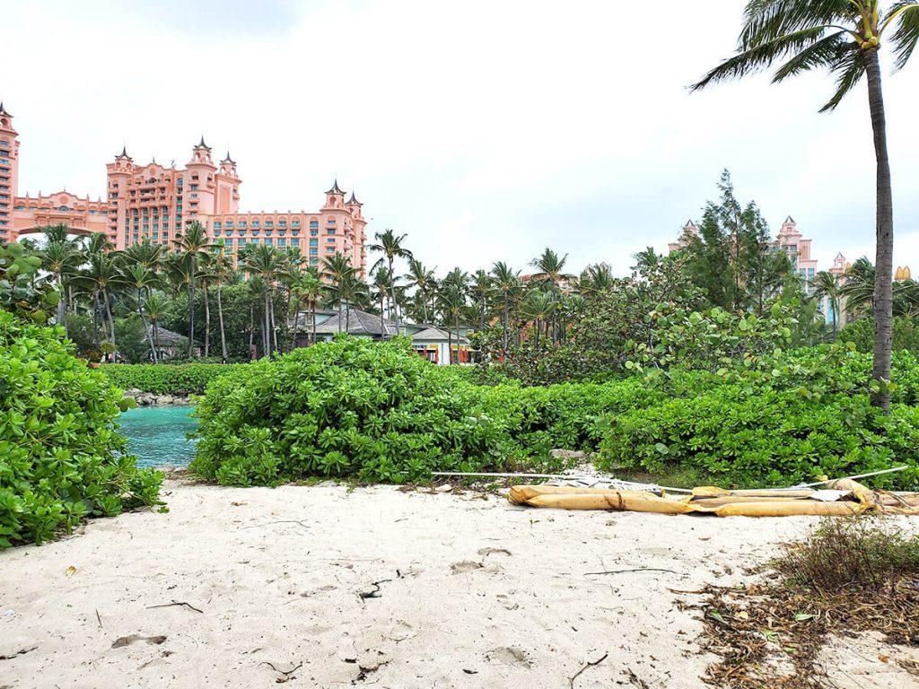Garbage at Atlantis Resort