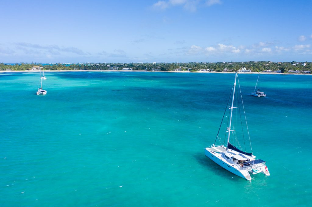 Seamlessly anchored in West Bay, New Providence Island